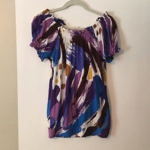 Women's Matty M Off the Shoulder Top - size small